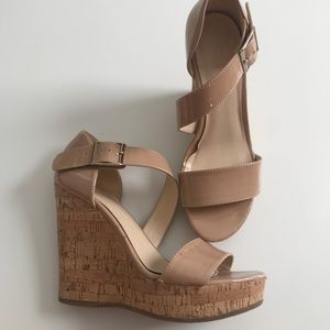Nine West Nude Wedges ✅Offers Accepted